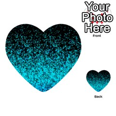 Glitter Dust G162 Multi-purpose Cards (Heart)