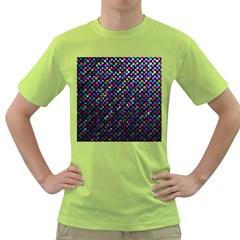 Polka Dot Sparkley Jewels 2 Green T-Shirt