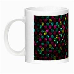 Polka Dot Sparkley Jewels 2 Night Luminous Mugs