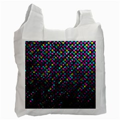 Polka Dot Sparkley Jewels 2 Recycle Bag (One Side)