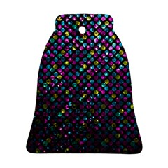 Polka Dot Sparkley Jewels 2 Bell Ornament (2 Sides)