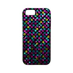 Polka Dot Sparkley Jewels 2 Apple iPhone 5 Classic Hardshell Case (PC+Silicone)