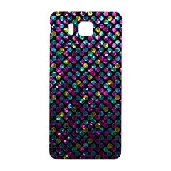 Polka Dot Sparkley Jewels 2 Samsung Galaxy Alpha Hardshell Back Case