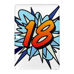 Comic Book 18 Blue Samsung Galaxy Tab Pro 10.1 Hardshell Case