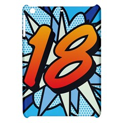 Comic Book 18 Blue Apple iPad Mini Hardshell Case