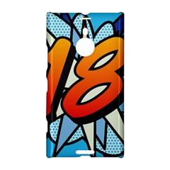 Comic Book 18 Blue Nokia Lumia 1520