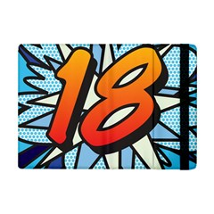 Comic Book 18 Blue iPad Mini 2 Flip Cases
