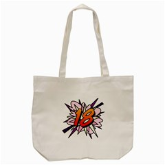 Comic Book 18 Pink Tote Bag (cream)