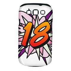 Comic Book 18 Pink Samsung Galaxy S III Classic Hardshell Case (PC+Silicone)