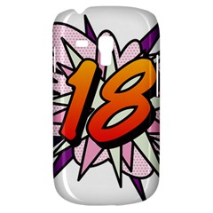 Comic Book 18 Pink Samsung Galaxy S3 MINI I8190 Hardshell Case