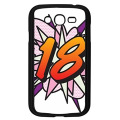 Comic Book 18 Pink Samsung Galaxy Grand DUOS I9082 Case (Black)