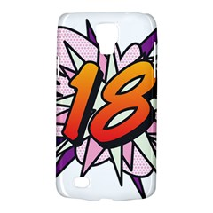 Comic Book 18 Pink Galaxy S4 Active