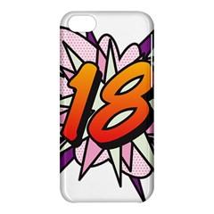 Comic Book 18 Pink Apple iPhone 5C Hardshell Case