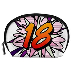 Comic Book 18 Pink Accessory Pouches (Large)