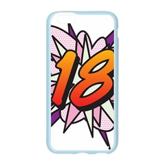 Comic Book 18 Pink Apple Seamless iPhone 6/6S Case (Color)