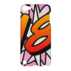 Comic Book 18 Pink Apple iPod Touch 5 Hardshell Case