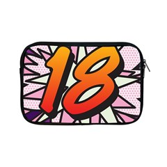 Comic Book 18 Pink Apple iPad Mini Zipper Cases
