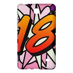Comic Book 18 Pink Samsung Galaxy Tab 4 (7 ) Hardshell Case