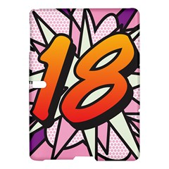 Comic Book 18 Pink Samsung Galaxy Tab S (10.5 ) Hardshell Case