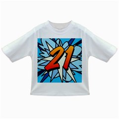Comic Book 21 Blue Infant/Toddler T-Shirts