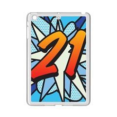 Comic Book 21 Blue iPad Mini 2 Enamel Coated Cases