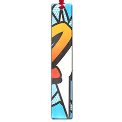 Comic Book 21 Blue Large Book Marks