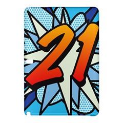 Comic Book 21 Blue Samsung Galaxy Tab Pro 12.2 Hardshell Case