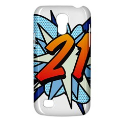 Comic Book 21 Blue Galaxy S4 Mini