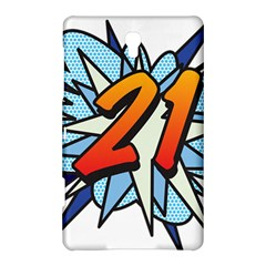 Comic Book 21 Blue Samsung Galaxy Tab S (8.4 ) Hardshell Case