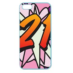 Comic Book 21 Pink Apple Seamless iPhone 5 Case (Color)