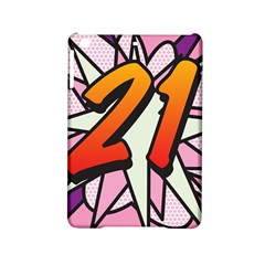 Comic Book 21 Pink iPad Mini 2 Hardshell Cases