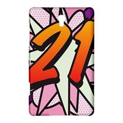 Comic Book 21 Pink Samsung Galaxy Tab S (8.4 ) Hardshell Case