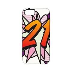 Comic Book 21 Pink  Apple iPhone 5 Classic Hardshell Case (PC+Silicone)