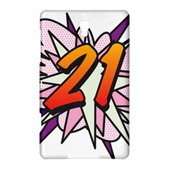 Comic Book 21 Pink  Samsung Galaxy Tab S (8 4 ) Hardshell Case
