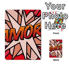 Comic Book Amor!  Multi-purpose Cards (Rectangle)