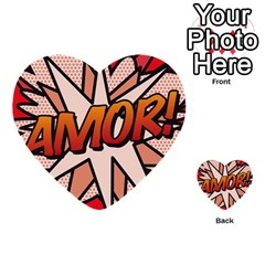 Comic Book Amor!  Multi-purpose Cards (Heart)