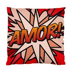 Comic Book Amor!  Standard Cushion Cases (Two Sides)