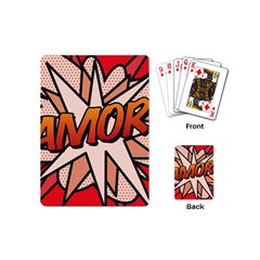 Comic Book Amor!  Playing Cards (Mini)