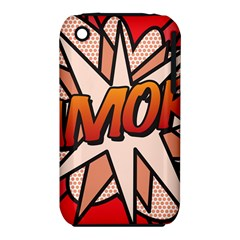 Comic Book Amor!  Apple iPhone 3G/3GS Hardshell Case (PC+Silicone)