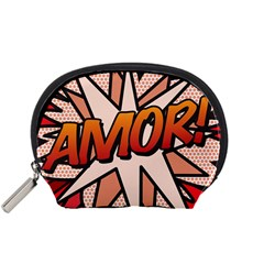 Comic Book Amor!  Accessory Pouches (Small)