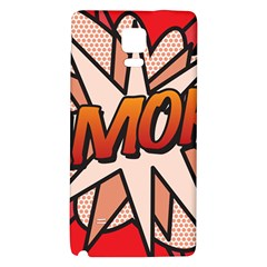 Comic Book Amor!  Galaxy Note 4 Back Case