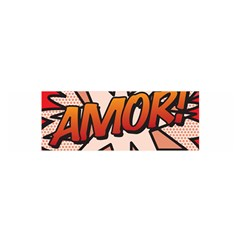 Comic Book Amor!  Satin Scarf (Oblong)