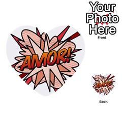 Comic Book Amor! Multi-purpose Cards (Heart)
