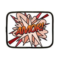 Comic Book Amor! Netbook Case (Small)