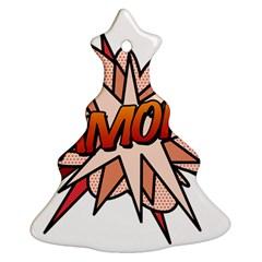 Comic Book Amor! Ornament (Christmas Tree)