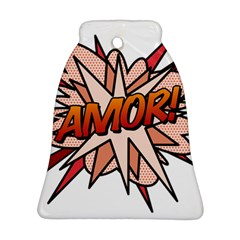 Comic Book Amor! Bell Ornament (2 Sides)