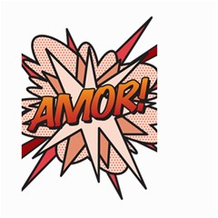 Comic Book Amor! Small Garden Flag (Two Sides)