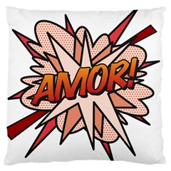 Comic Book Amor! Large Cushion Cases (One Side)