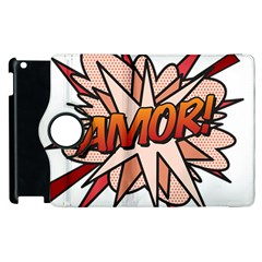 Comic Book Amor! Apple iPad 3/4 Flip 360 Case