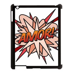 Comic Book Amor! Apple iPad 3/4 Case (Black)